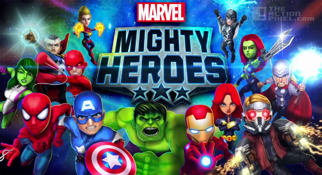 marvel mighty heroes. the action pixel. @theactionpixel