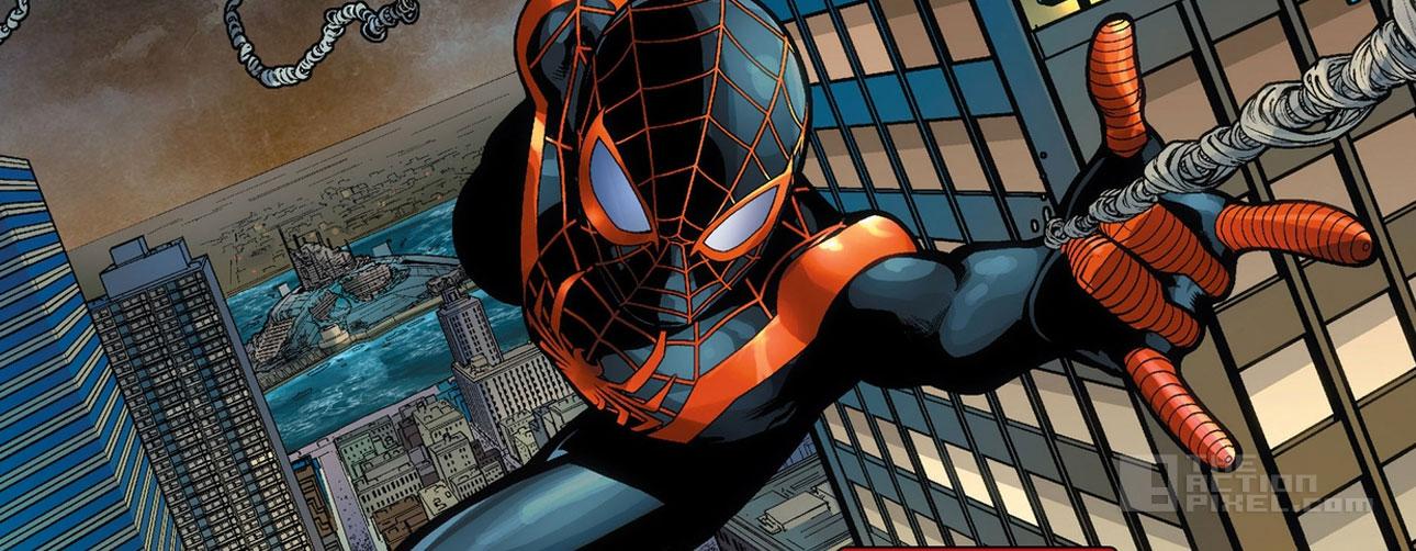 miles morales Spiderman. The action pixel. @theactionpixel
