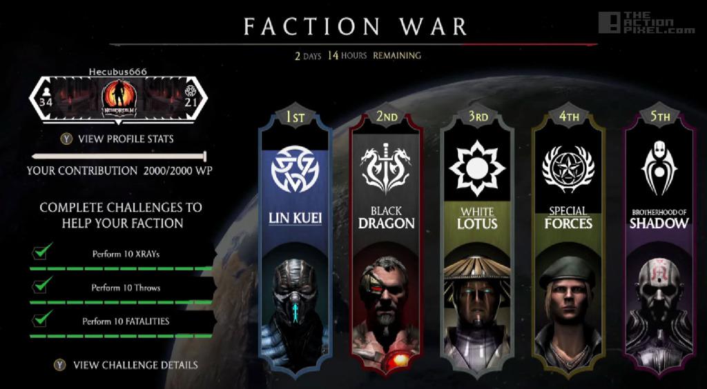 mortal kombat x Faction War. The action pixel. @theactionpixel