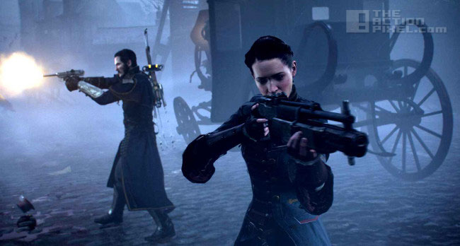 the order: 1886 gunfight. the action pixel. @theactionpixel
