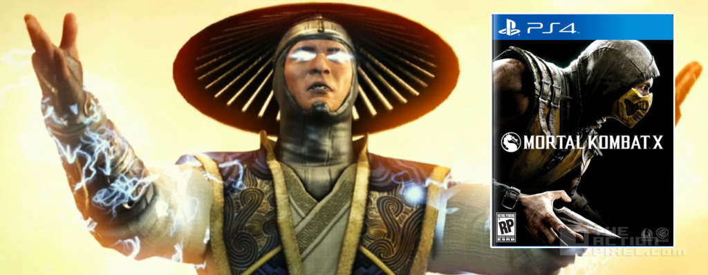 raiden Mortal Kombat X. The action pixel. @theactionpixel