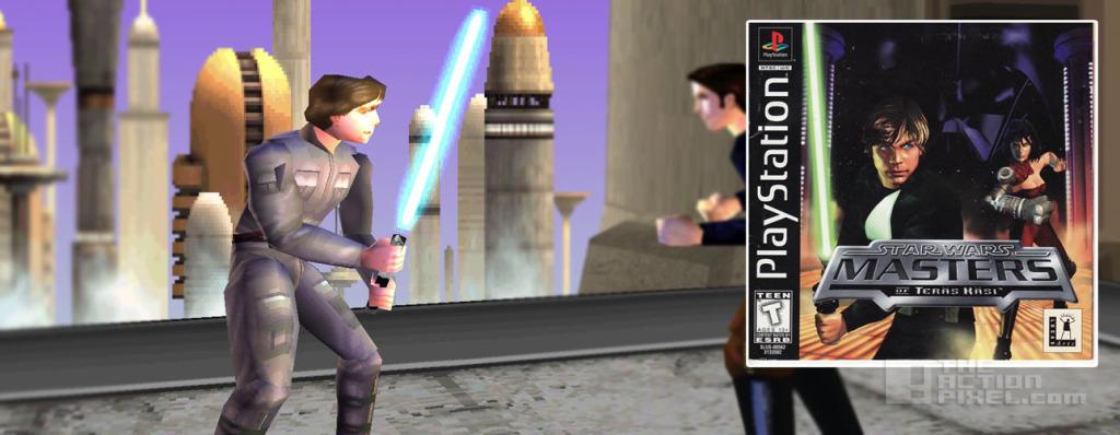 luke skywalker in star wars: Masters Of Teras. The action pixel. @theactionpixel