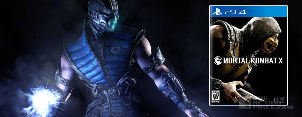 sub-zero Mortal Kombat X. the action pixel. @theactionpixel