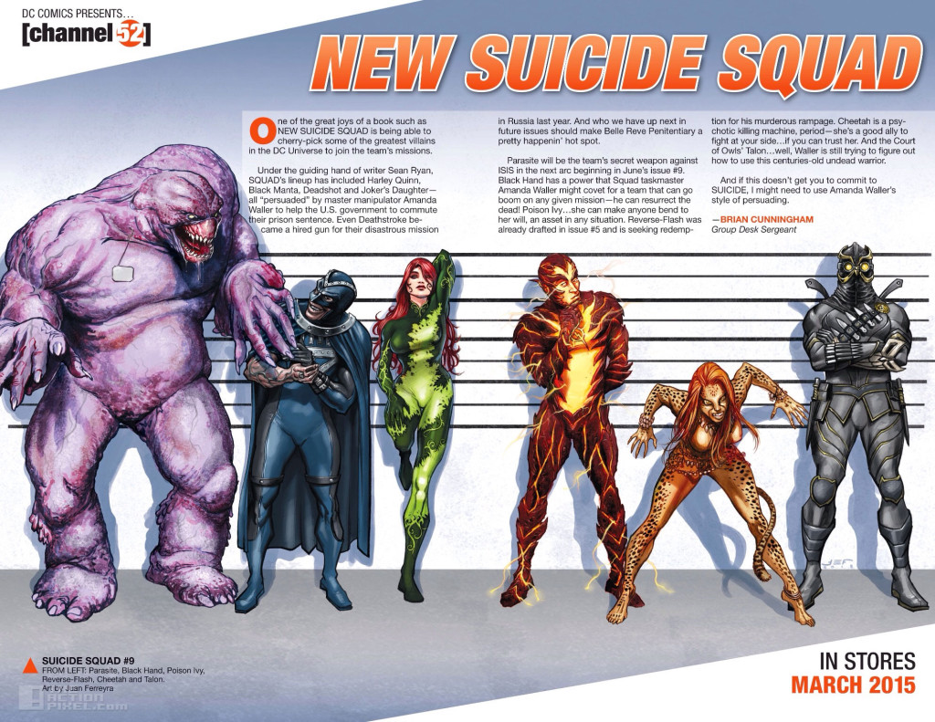 new suicide Squad Banner. the action pixel. @theactionpixel