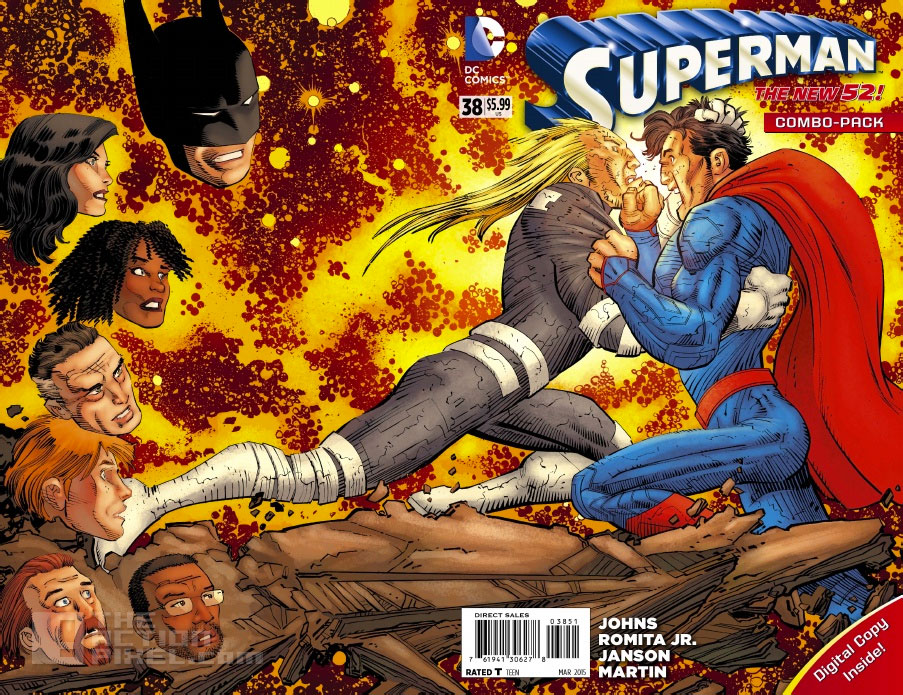 DC  comics. superman 38.  the action pixel. @theactionpixel