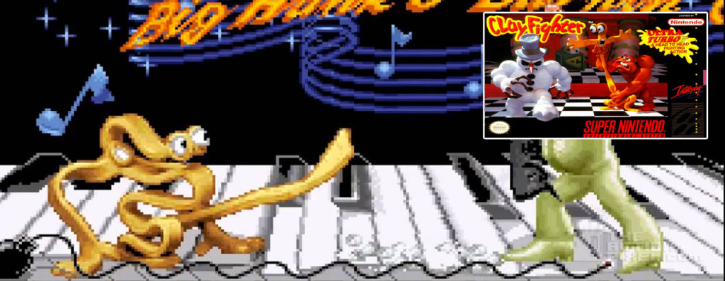 taffy clayfighter. the action pixel. @theactionpixel