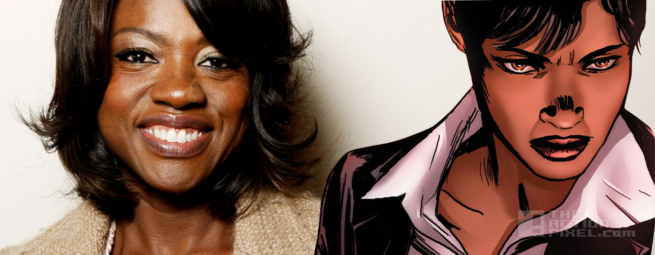 viola davis amanda weller. suicide squad. dc comics, the action pixel @theactionpixel