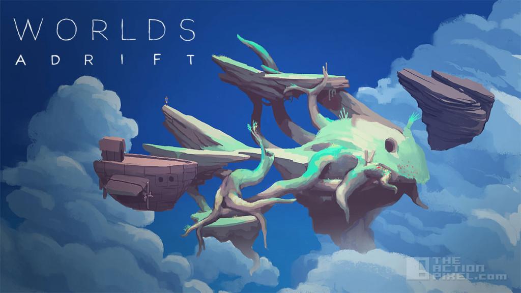 worlds Adrift. The action pixel. @theactionpixel bossa studios improbable