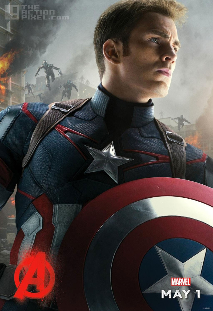 CAPTAIN AMERICA poster. Avengers: Age of ultron. the action pixel @theactionpixel