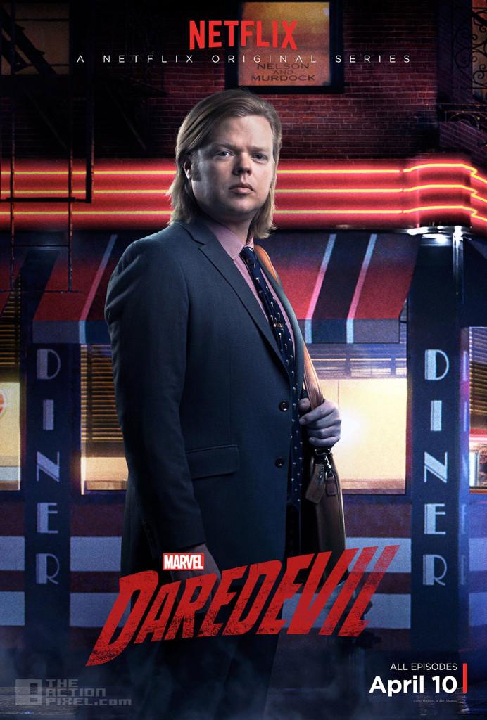 Elden Henson is Foggy Nelson. Daredevil. marvel . netflix. the action pixel. @theactionpixel