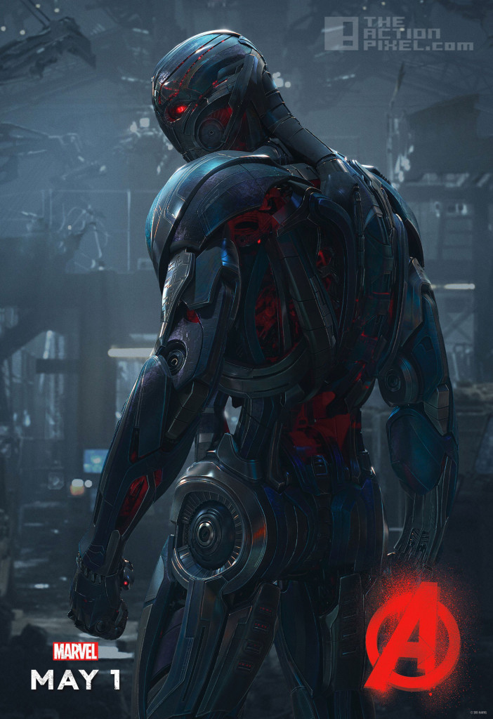 Ultron poster. Avengers Age Of Ultron. the action pixel. @theactionpixel