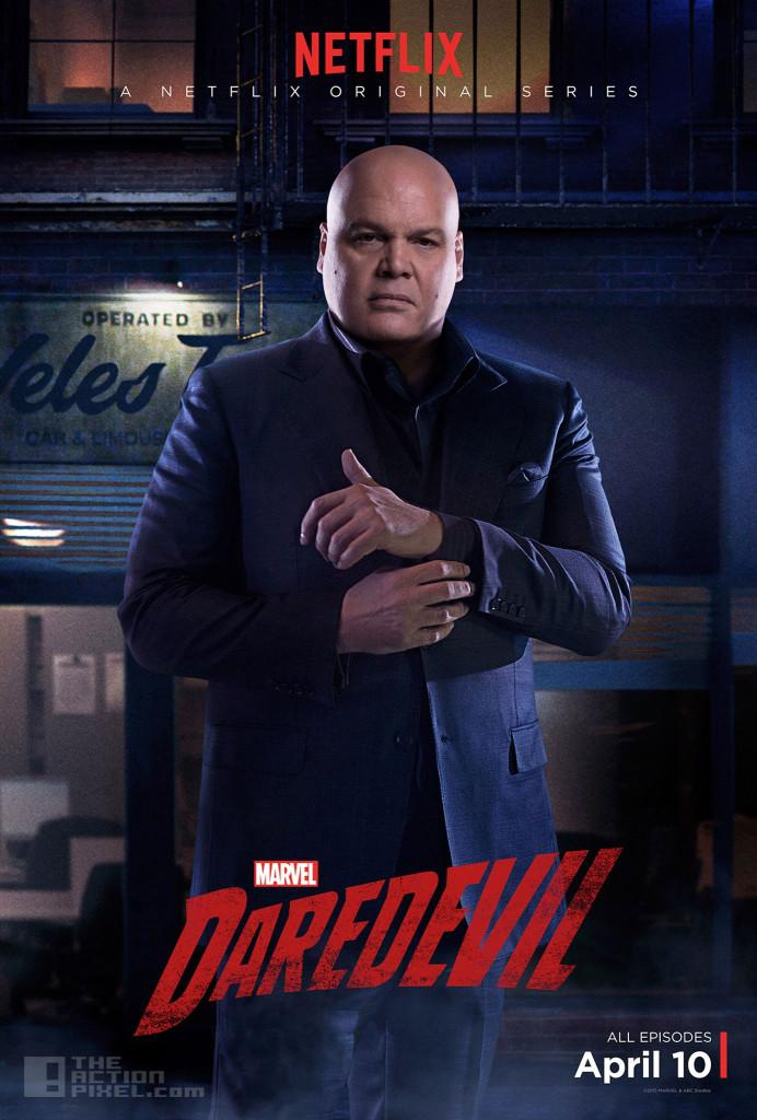 Vincent D'Onofrio is Wilson Fisk. Daredevil. marvel . netflix. the action pixel. @theactionpixel