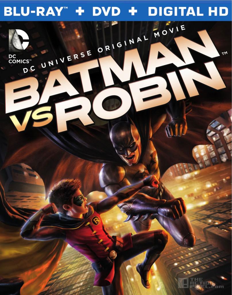 batman Vs Robin. wb animation. the action pixel. @theactionpixel. bluray cover art
