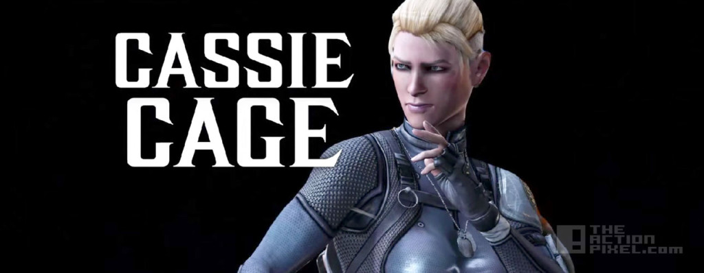 cassie cage. mortal kombat x. the action pixel. @theactionpixel