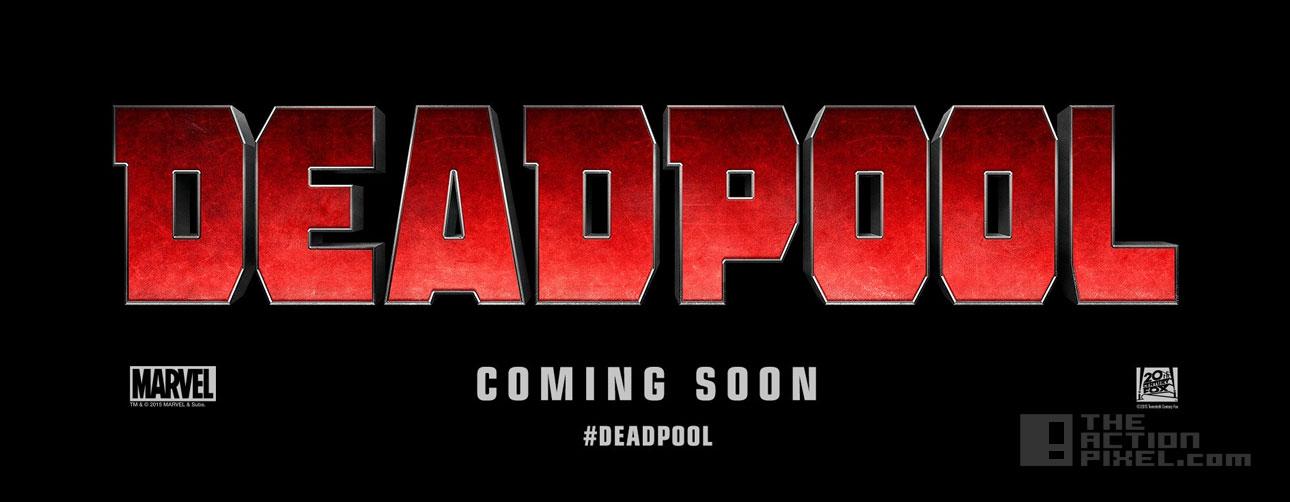 deadpool exclusive. the action pixel @theactionpixel Marvel. fox