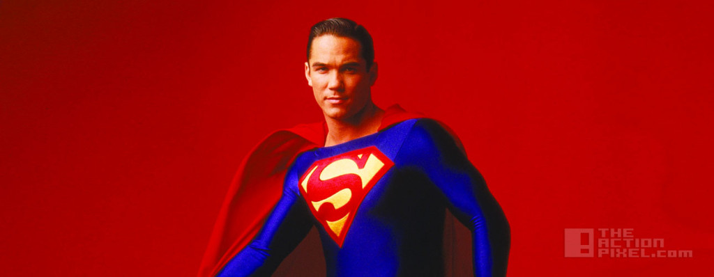 dean cain. superman the action pixel @theactionpixel