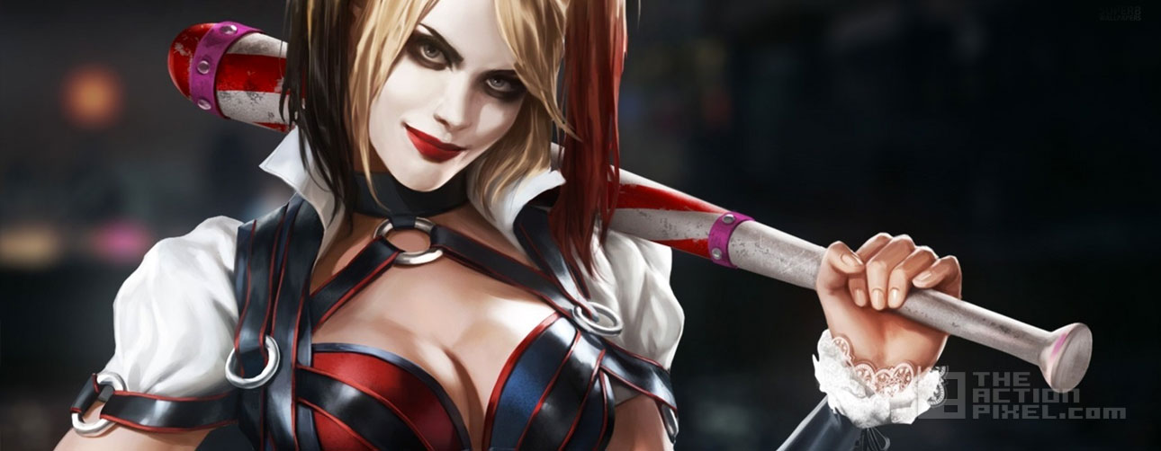 harley quinn. batman arkham knight,. dc comics, wb games, rocksteady games, the action pixel @theactionpixel