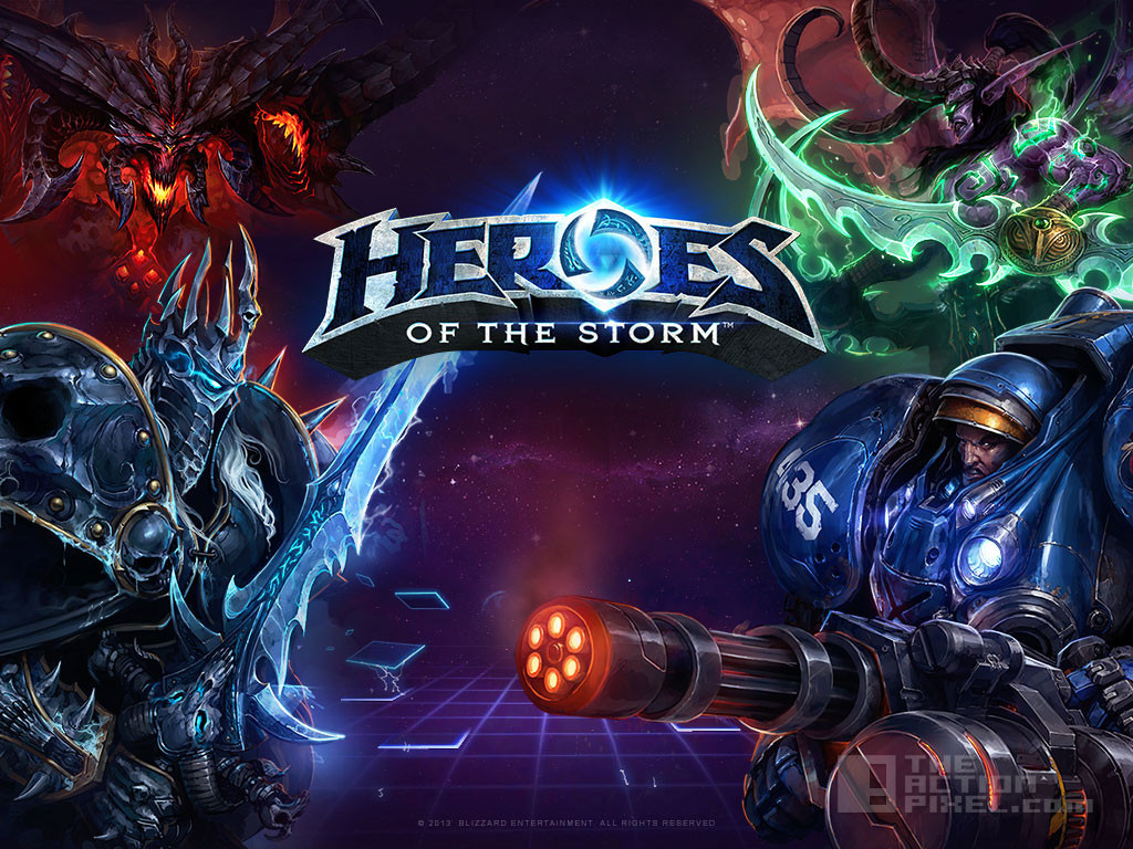 heroes of the storm. THE ACTION PIXEL. @THEACTIONPIXEL BLIZZARD