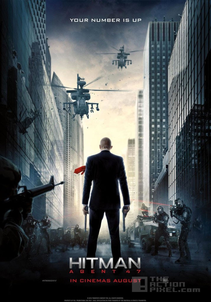 hitman agent 47 Poster. the action pixel. @theactionpixel