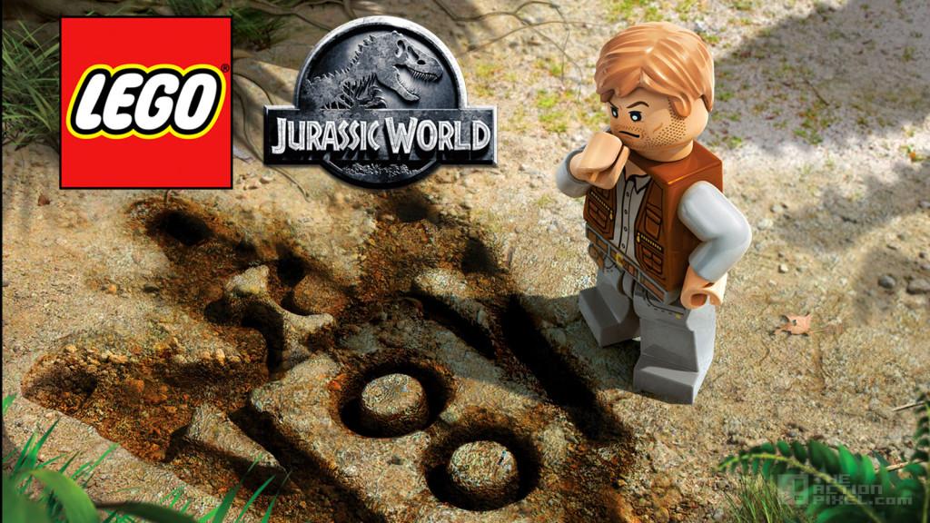 lego jurassic world. wb games. tt games. universal. lego. the action pixel @theactionpixel