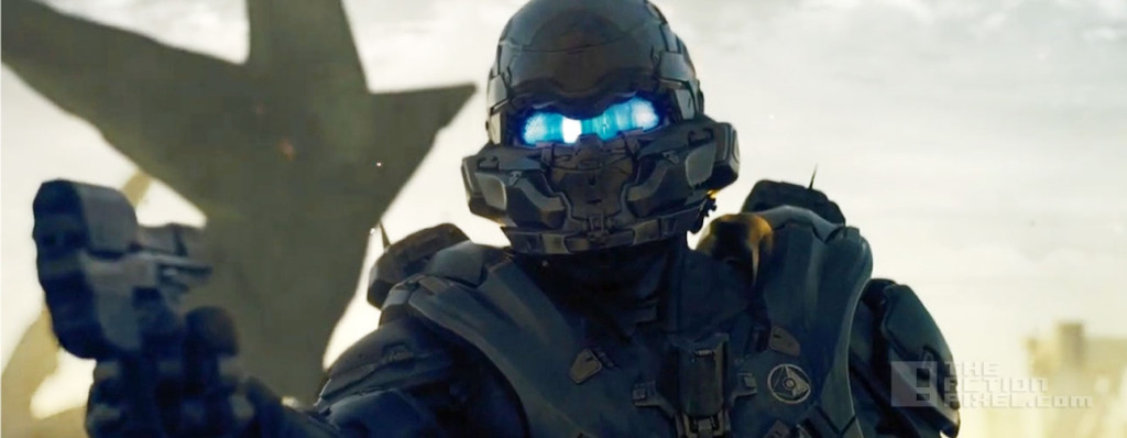 spartan locke. halo 5 Guardian. hunt the truth. the action pixel @theactionpixel. 343 industries. xbox.