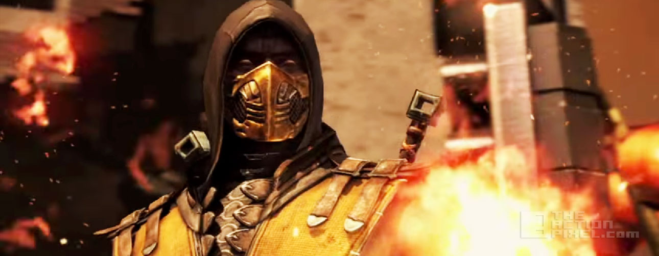 Mortal Kombat x. netherrealm studios. Scorpion. the action pixel @theactionpixel