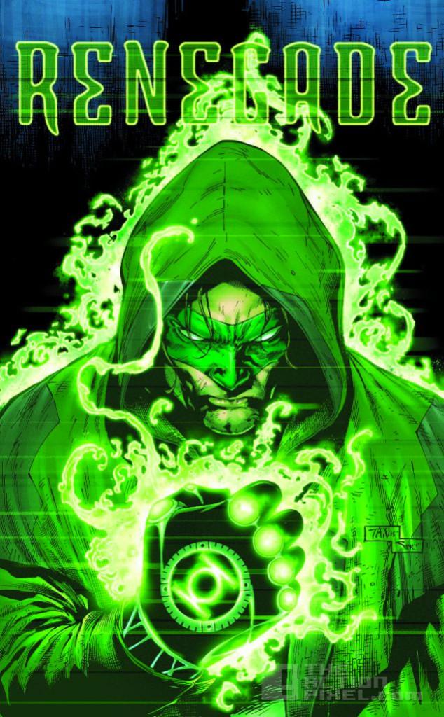 renegade green lantern. the action pixel. @thectionpixel