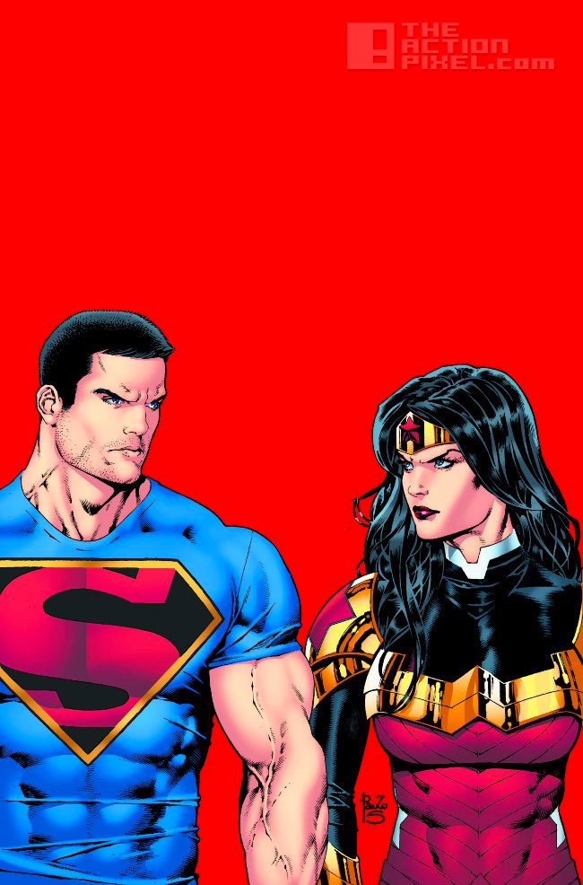 superman wonder woman Costume. the action pixel. @theactionpixel Dc comics.