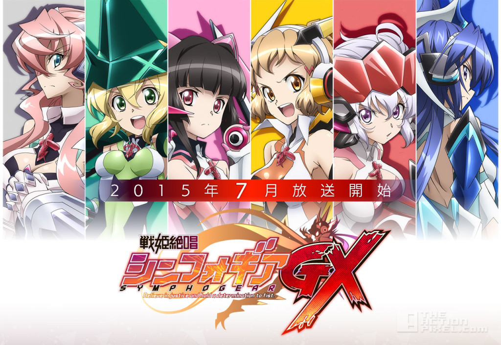 symphogear GX. the action pixel @theactionpixel