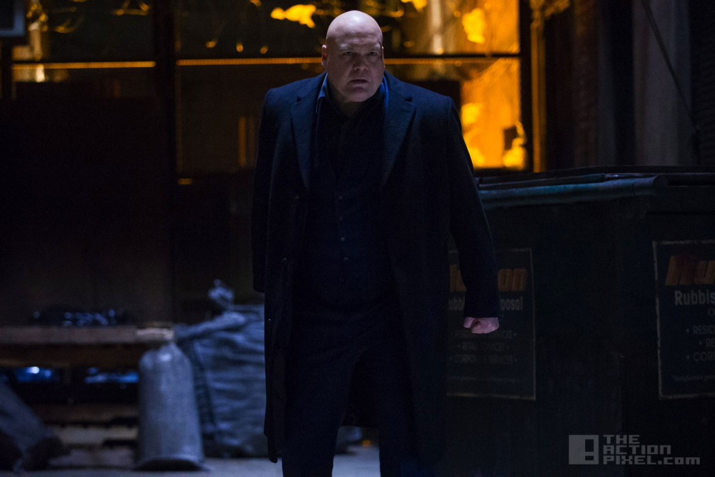 vincent d'onofrio as kingpin in Daredevil. marvel and netflix. the action pixel. @theactionpixel