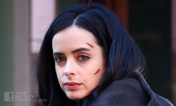 krysten ritter AKA Jessica Jones. the action pixel. @theactionpixel