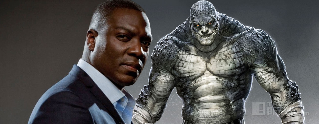 Adewale Akinnuoye-Agbaje is killer croc, suicide squad, dc comics. wb. the action pixel. @theactionpixel