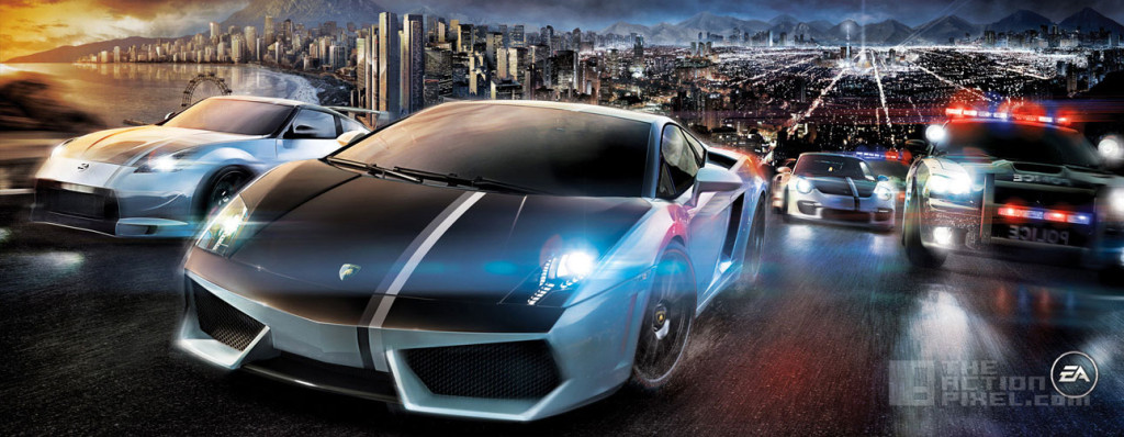 NEED FOR SPEED MOVIE. EA GAMES. DREAMWORKS. THE ACTION PIXEL. @THEACTIONPIXEL