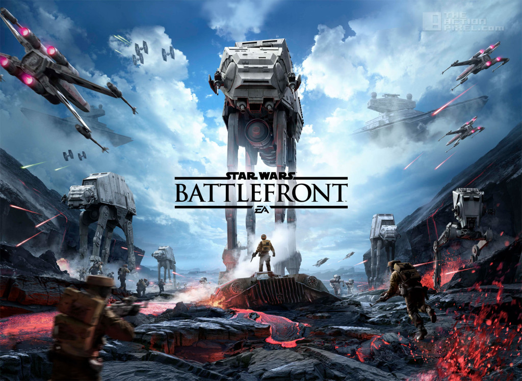 Star Wars battlefront. dice games. ea. the action pixel. @theactionpixel