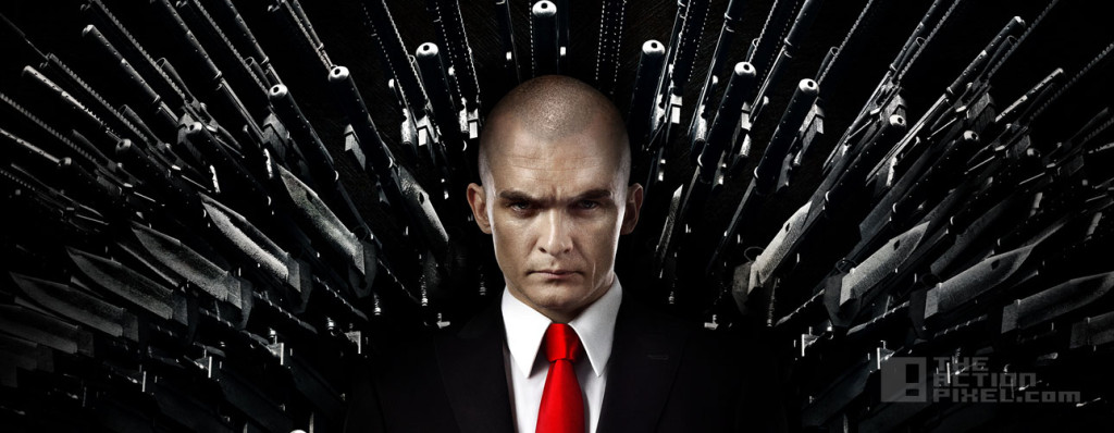 hitman agent 47 poster. the action pixel. 20th century fox. @theactionpixel