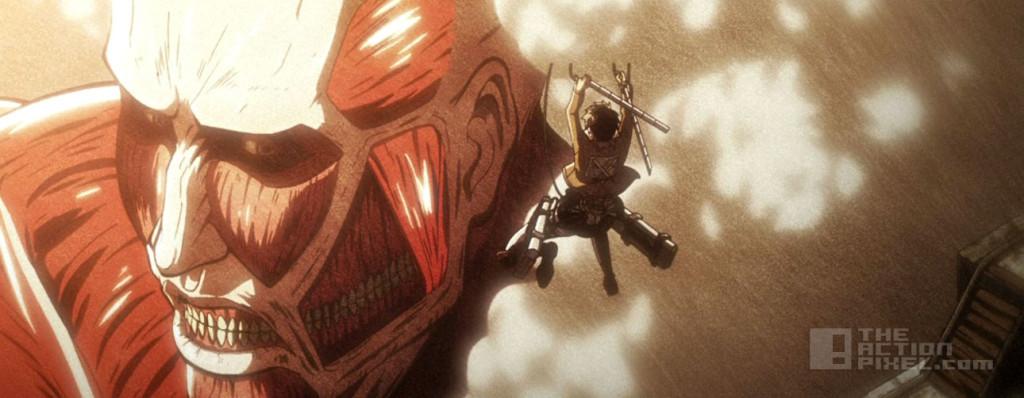 attack on titan Eren, armoured titan. the action pixel. @theactionpixel