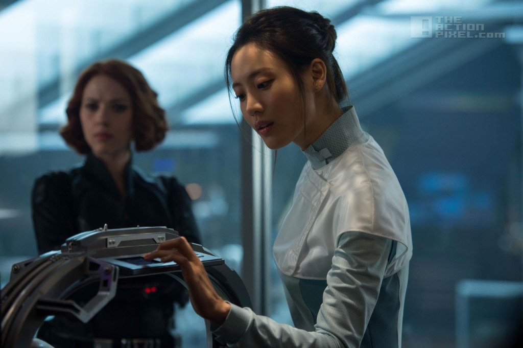 dr helen cho. claudia kim. marvel. Avengers: Age Of Ultron. The Action pixel. @TheActionPixel