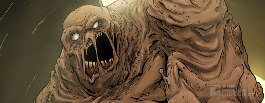 clayface. dc comics. the action pixel. @theactionpixel