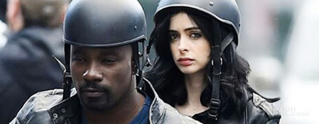 mike colter krysten ritter AKA Jessica Jones. the action pixel. @theactionpixel