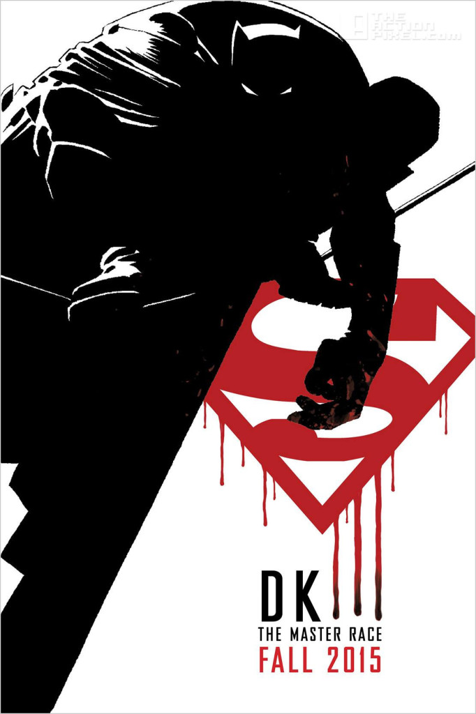dark knight 3: the Master race. frank miller. dc comics. the action pixel. @theactionpixel