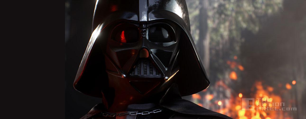 darth vader Star Wars battlefront. dice games. ea. the action pixel. @theactionpixel