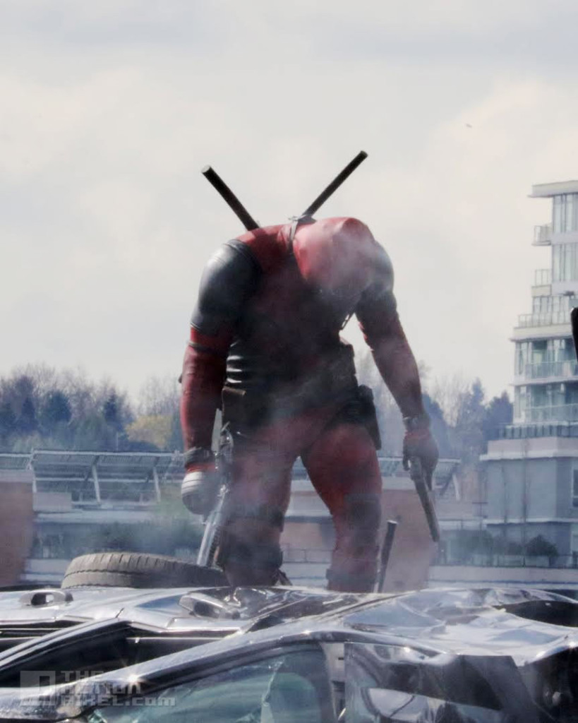 deadpool Set. Fox. the action pixel. @theactionpixel