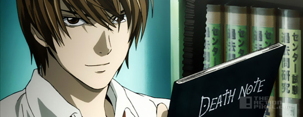 death note Light. viz entertainment. the action pixel. @theactionpixel