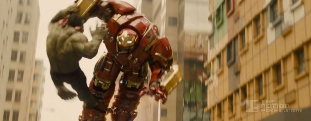 hulk v hulkbuster. Avengers: Age Of Ultron. the action pixel. @theactionpixel