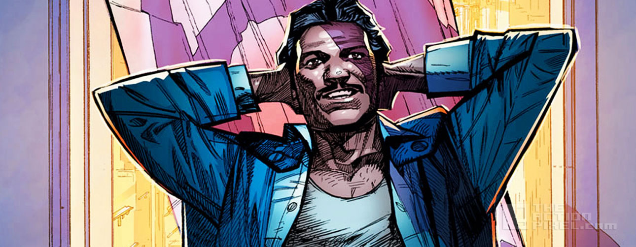 LANDO cover. marvel. star wars. the action pixel. @theactionpixel