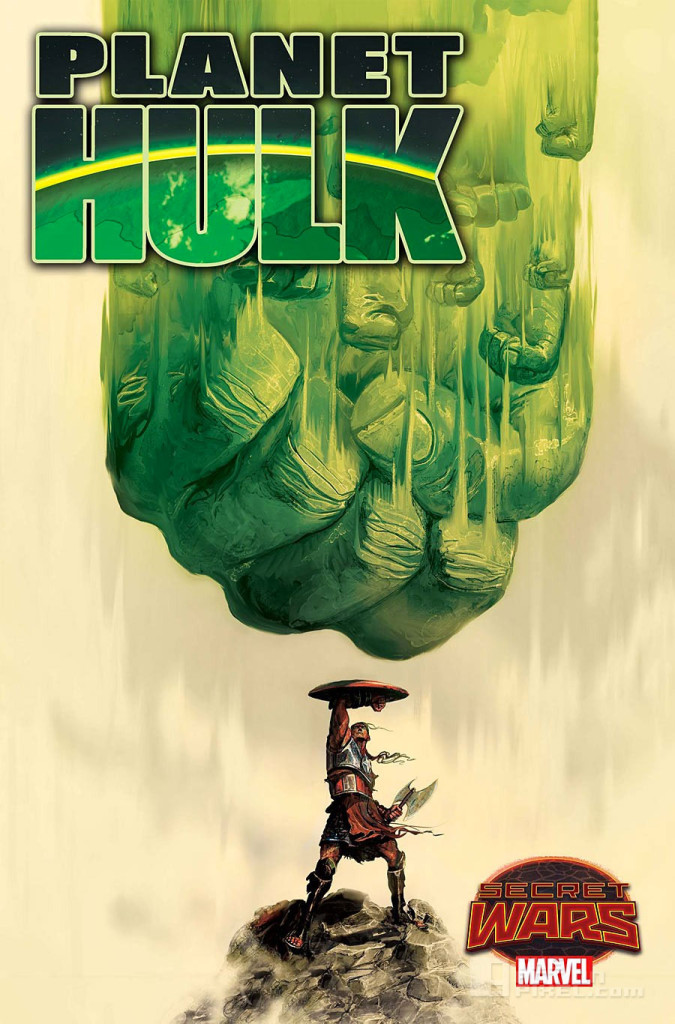 planet hulk cover. secret wars. marvel. the action pixel. @theactionpixel