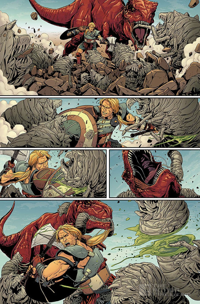 planet hulk page 3. secret wars. marvel. the action pixel. @theactionpixel