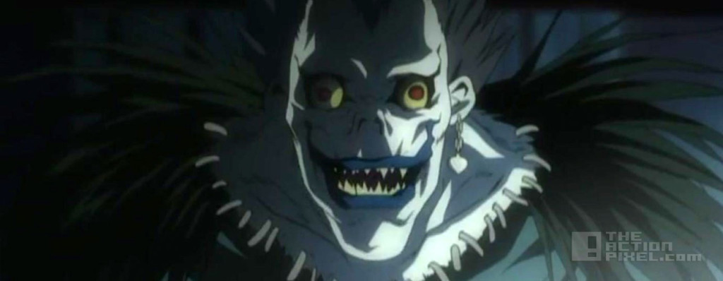 death note. ryuk. viz entertainment. the action pixel. @theactionpixel