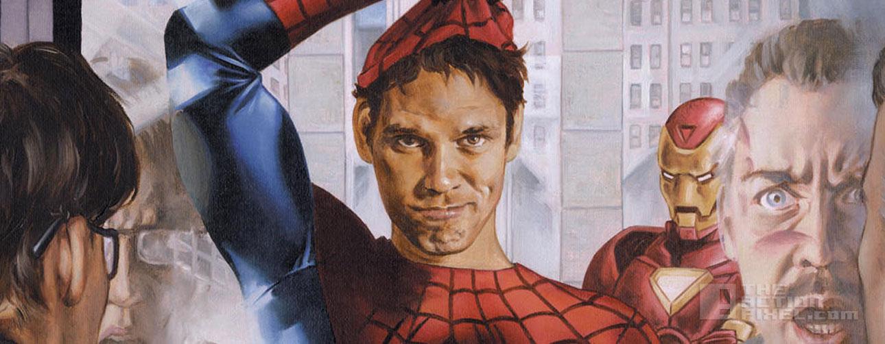 spiderman reveal. civil war, sony, marvel. the action pixel @theactionpixel