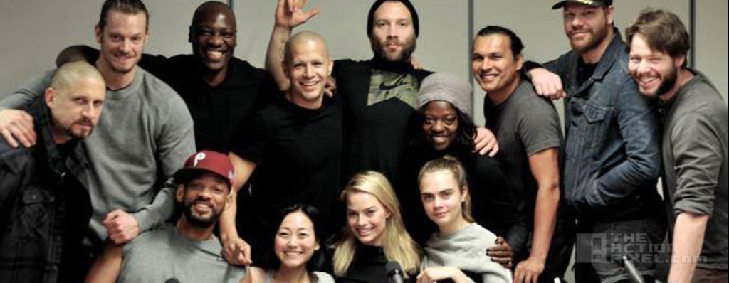 suicide Squad cast. the action pixel. @theactionpixel